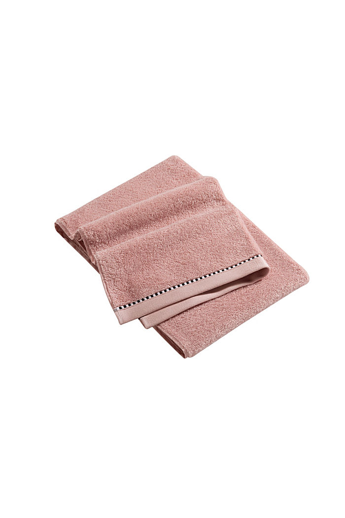 With TENCEL™: terry cloth towel collection, ROSE, detail image number 3