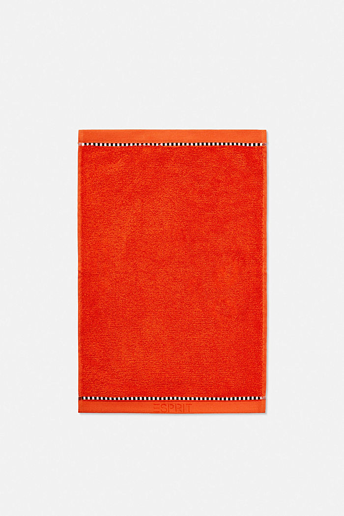With TENCEL™: terry cloth towel collection, FIRE, detail image number 2