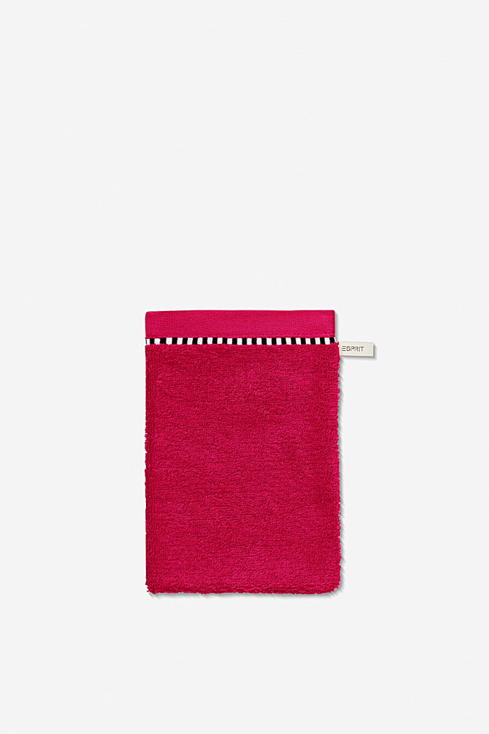 With TENCEL™: terry cloth towel collection, RASPBERRY, detail image number 5