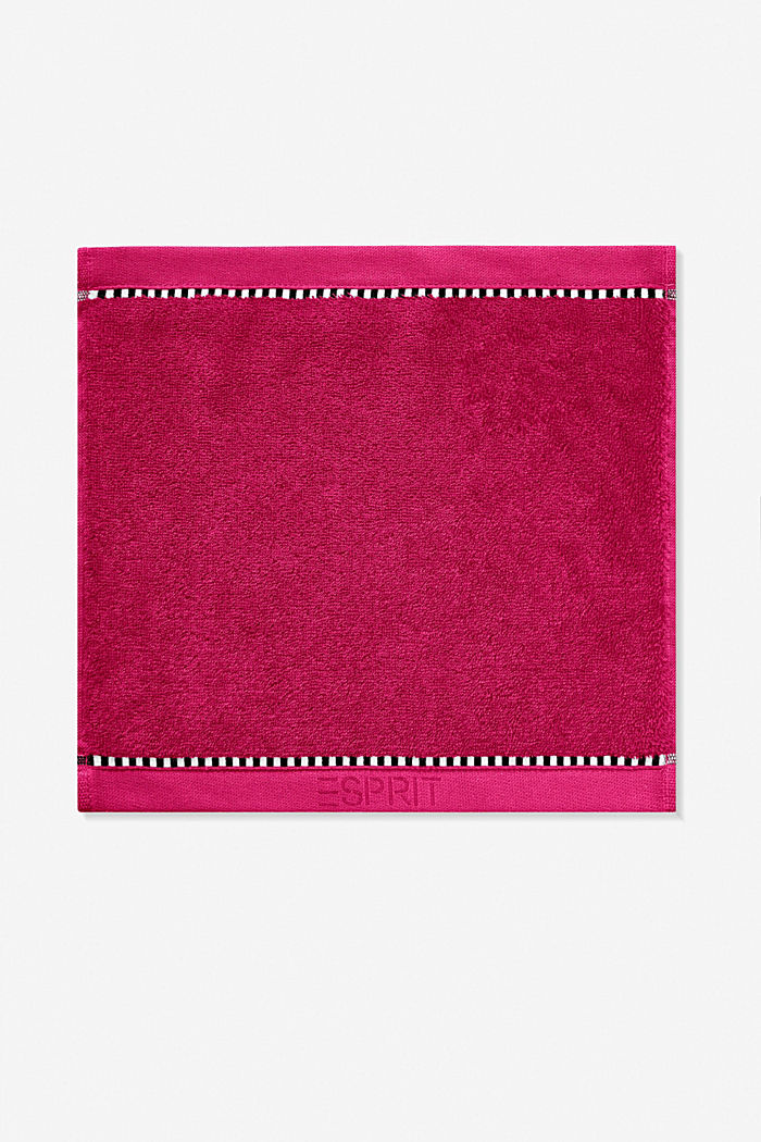 With TENCEL™: terry cloth towel collection, RASPBERRY, detail image number 6