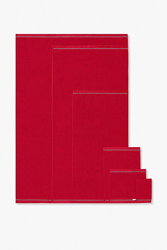 Mit TENCEL™: Handtuch-Serie aus Frottee, CHERRY, detail image number 4