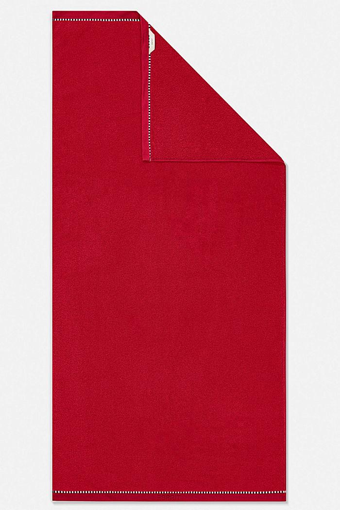 Mit TENCEL™: Handtuch-Serie aus Frottee, CHERRY, detail image number 5