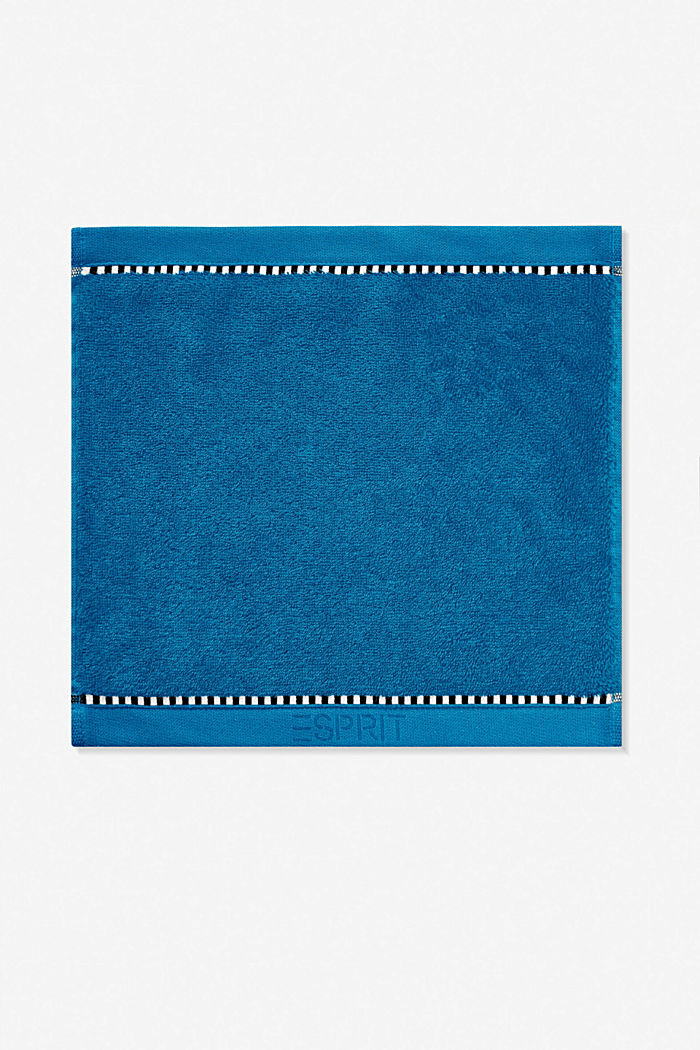 With TENCEL™: terry cloth towel collection, OCEAN BLUE, detail image number 6