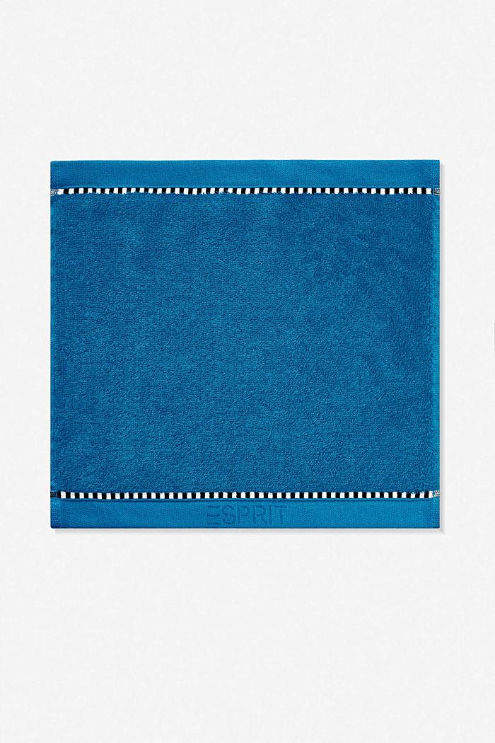 Med TENCEL™: handduksserie i frotté, OCEAN BLUE, detail image number 5