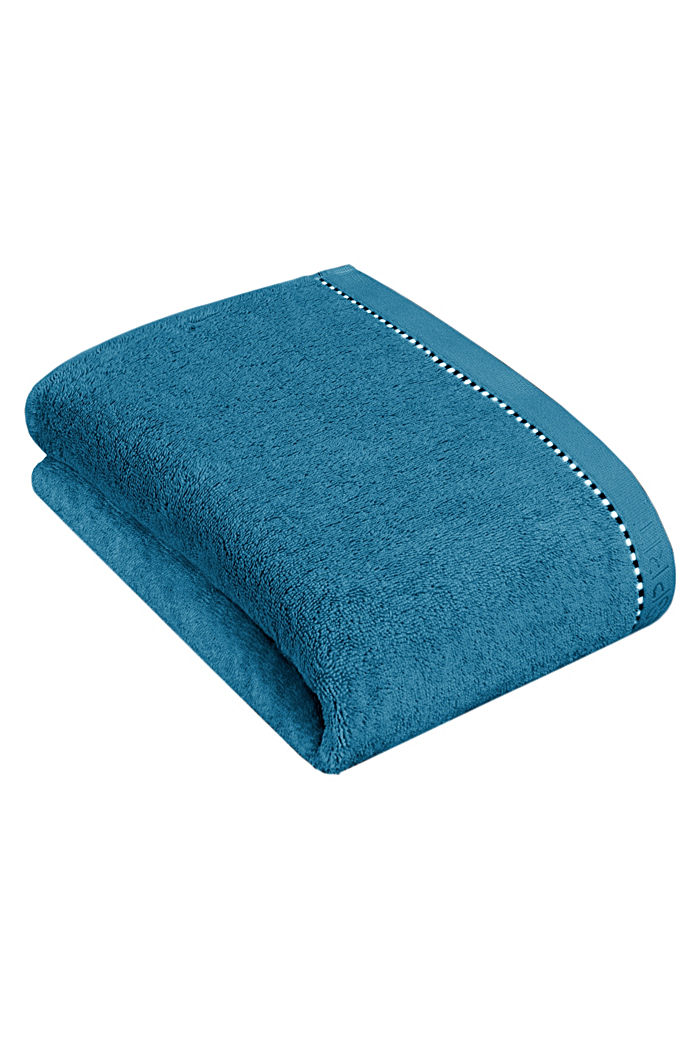 With TENCEL™: terry cloth towel collection, OCEAN BLUE, detail image number 2