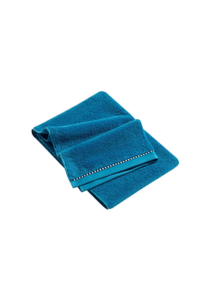 With TENCEL™: terry cloth towel collection, OCEAN BLUE, detail image number 3