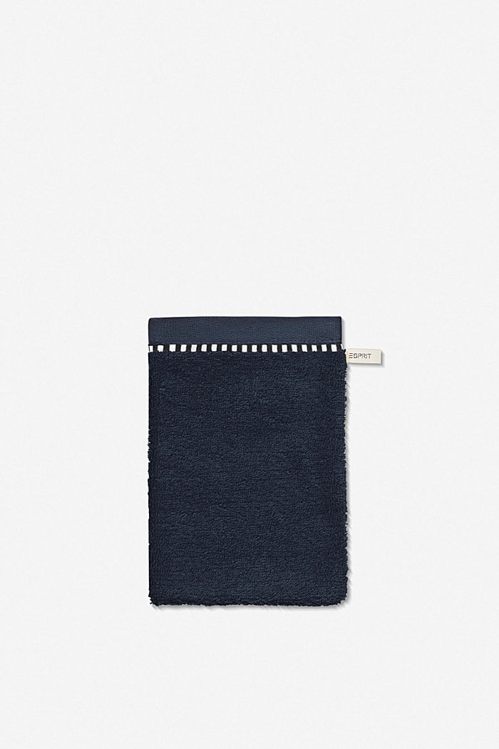 With TENCEL™: terry cloth towel collection, NAVY BLUE, detail image number 5