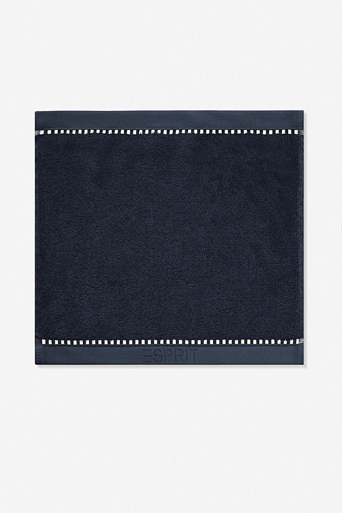 With TENCEL™: terry cloth towel collection, NAVY BLUE, detail image number 6