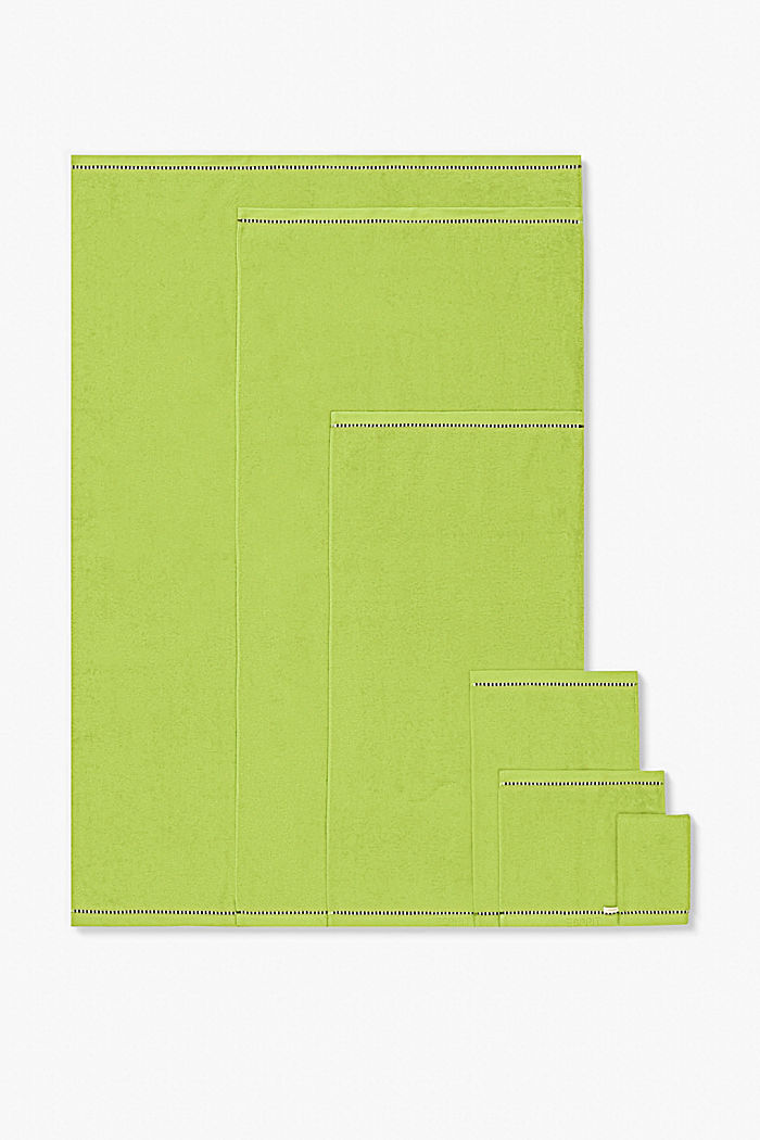Mit TENCEL™: Handtuch-Serie aus Frottee, APPLE GREEN, detail image number 4