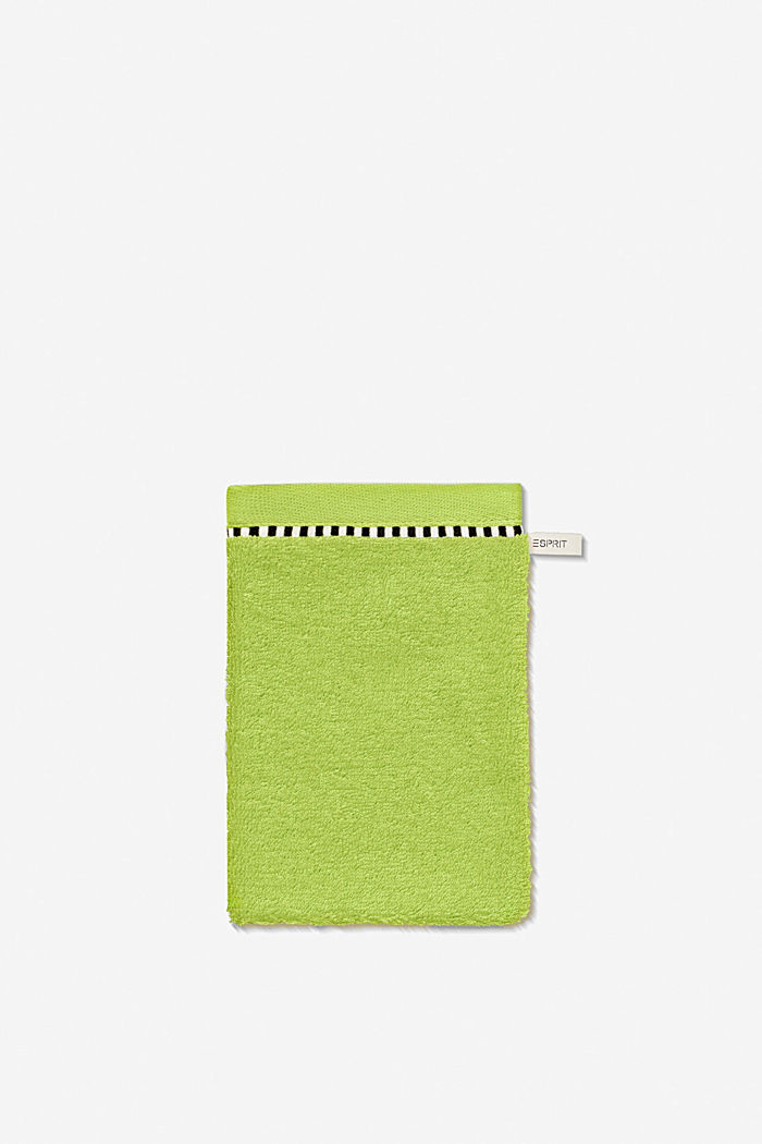 Mit TENCEL™: Handtuch-Serie aus Frottee, APPLE GREEN, detail image number 5