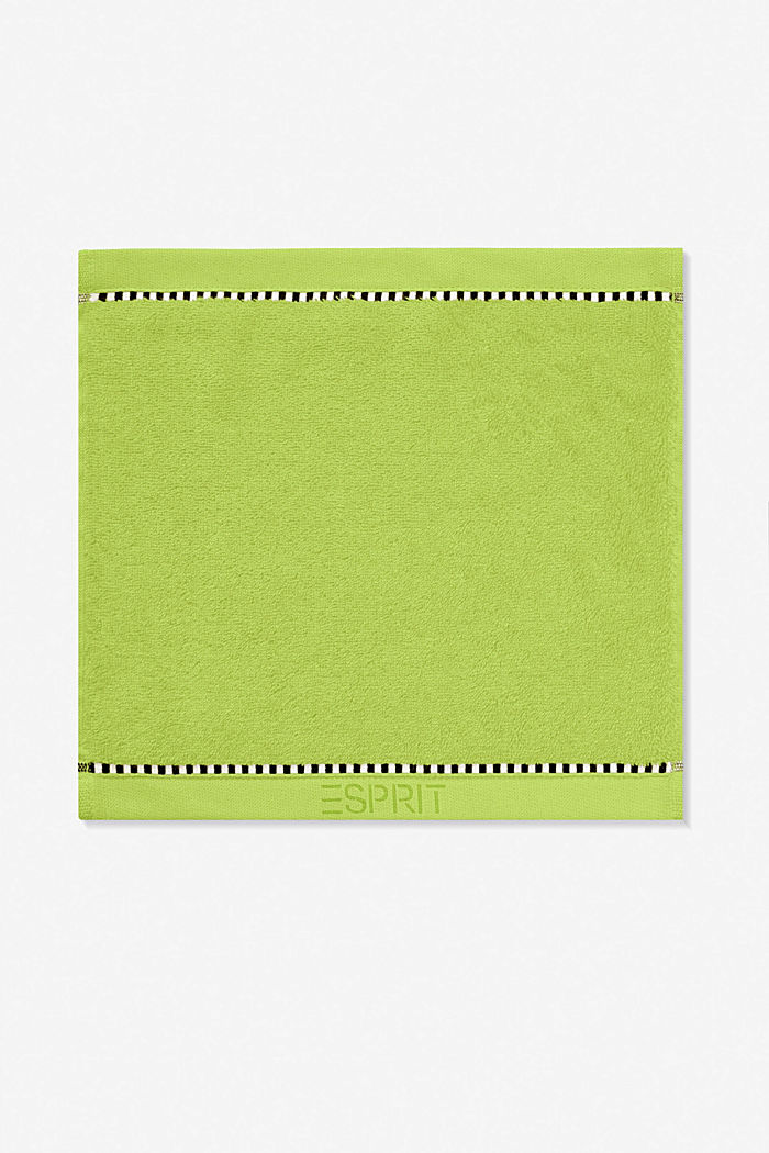 Mit TENCEL™: Handtuch-Serie aus Frottee, APPLE GREEN, detail image number 6