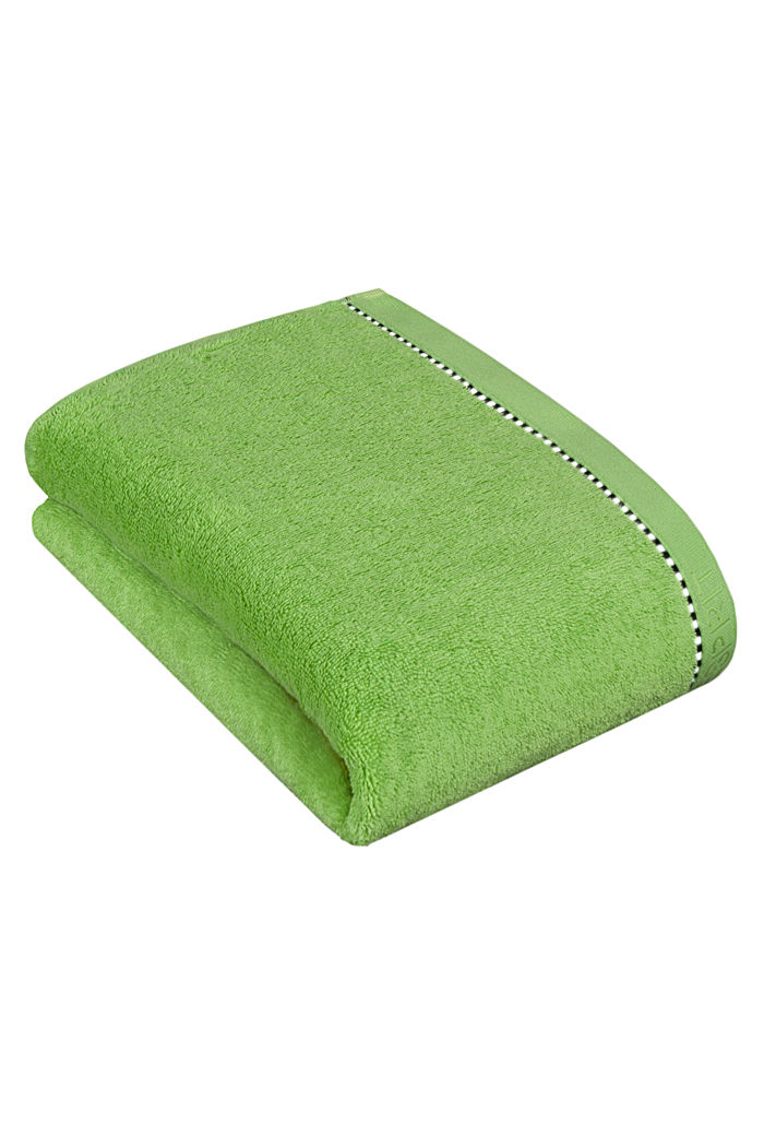 Mit TENCEL™: Handtuch-Serie aus Frottee, APPLE GREEN, detail image number 2