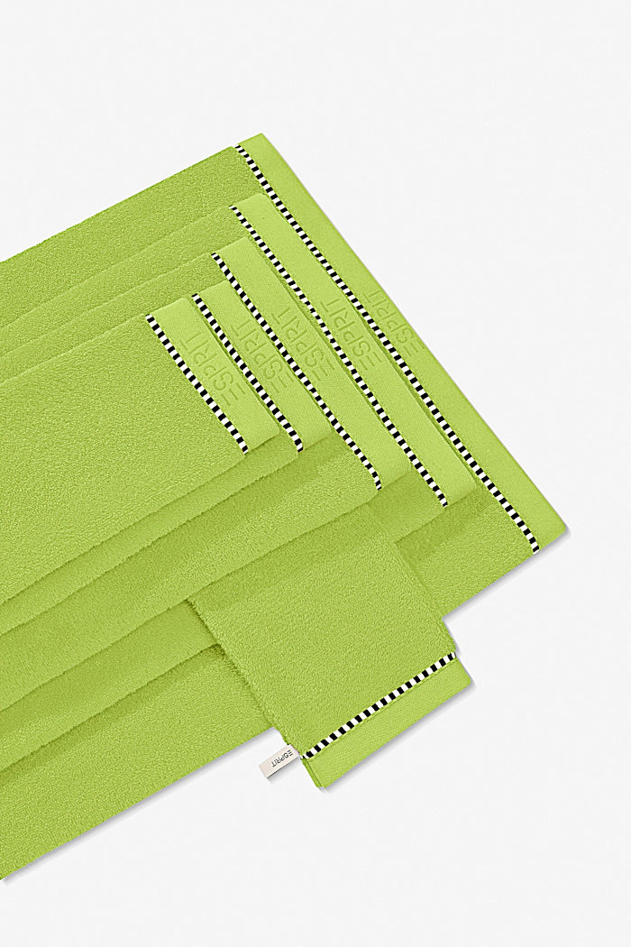 Mit TENCEL™: Handtuch-Serie aus Frottee, APPLE GREEN, overview