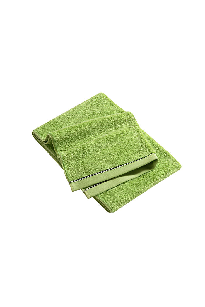 Mit TENCEL™: Handtuch-Serie aus Frottee, APPLE GREEN, detail image number 3