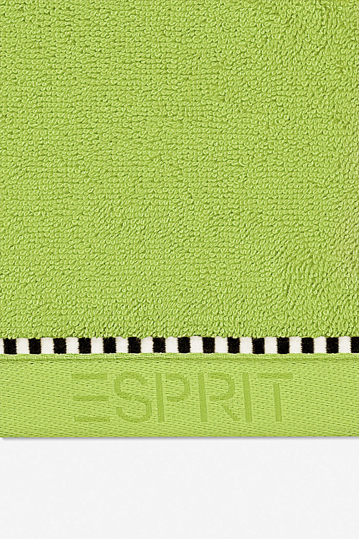 Mit TENCEL™: Handtuch-Serie aus Frottee, APPLE GREEN, detail image number 1