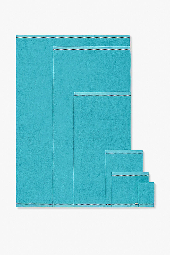 Mit TENCEL™: Handtuch-Serie aus Frottee, TURQUOISE, detail image number 4