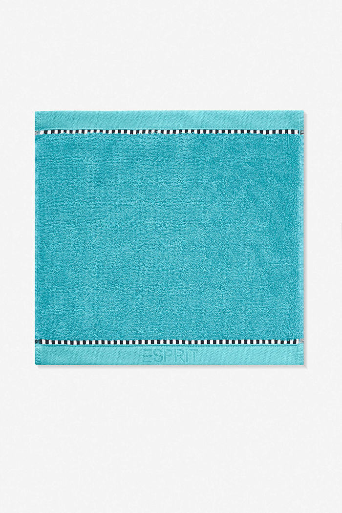 Mit TENCEL™: Handtuch-Serie aus Frottee, TURQUOISE, detail image number 6
