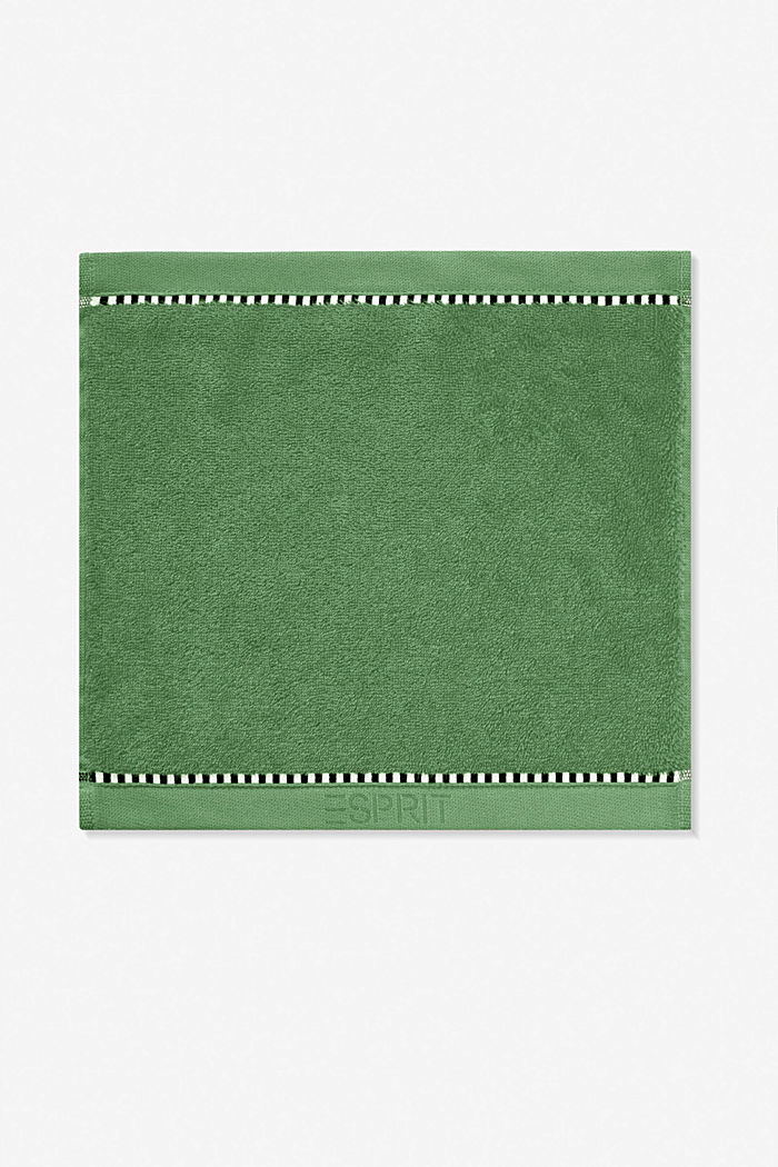 With TENCEL™: terry cloth towel collection, MOSS GREEN, detail image number 6