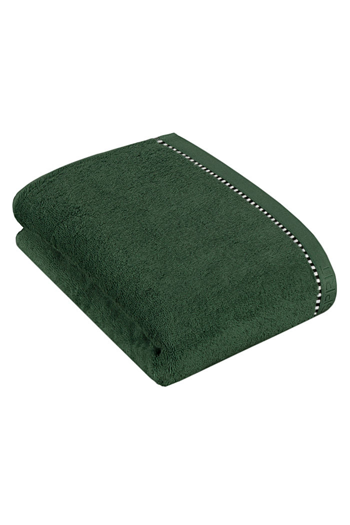 With TENCEL™: terry cloth towel collection, MOSS GREEN, detail image number 2