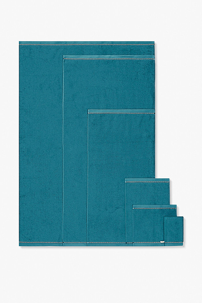 With TENCEL™: terry cloth towel collection, TEAL, detail image number 4