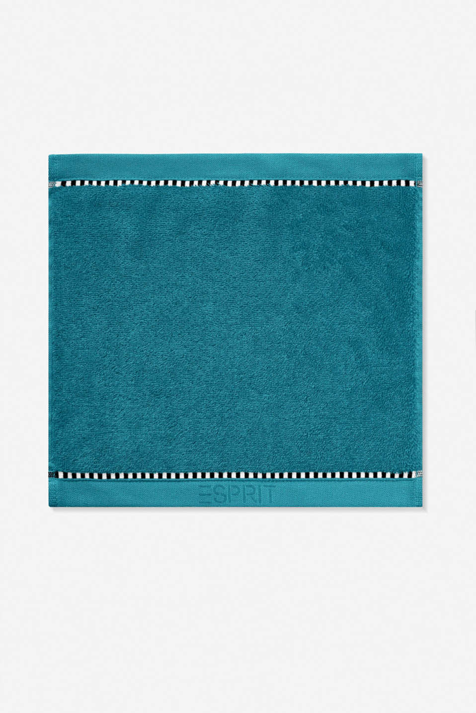 With TENCEL™: terry cloth towel collection, TEAL, detail image number 6