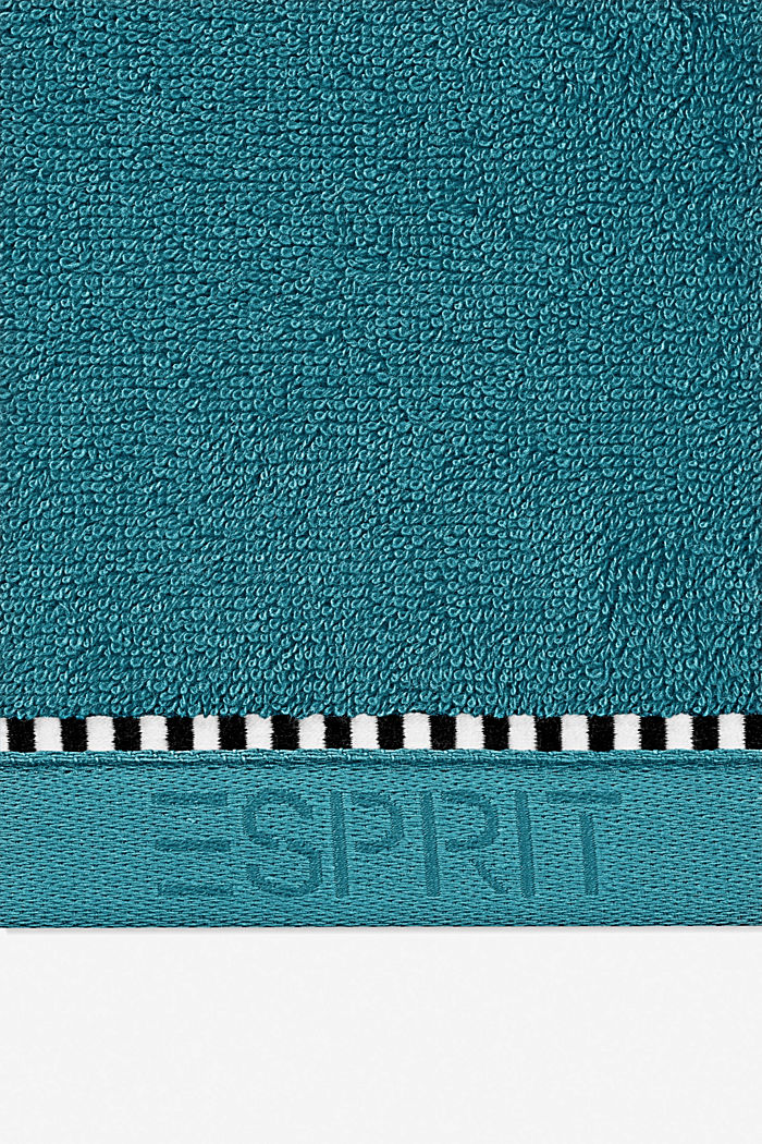 With TENCEL™: terry cloth towel collection, TEAL, detail image number 1