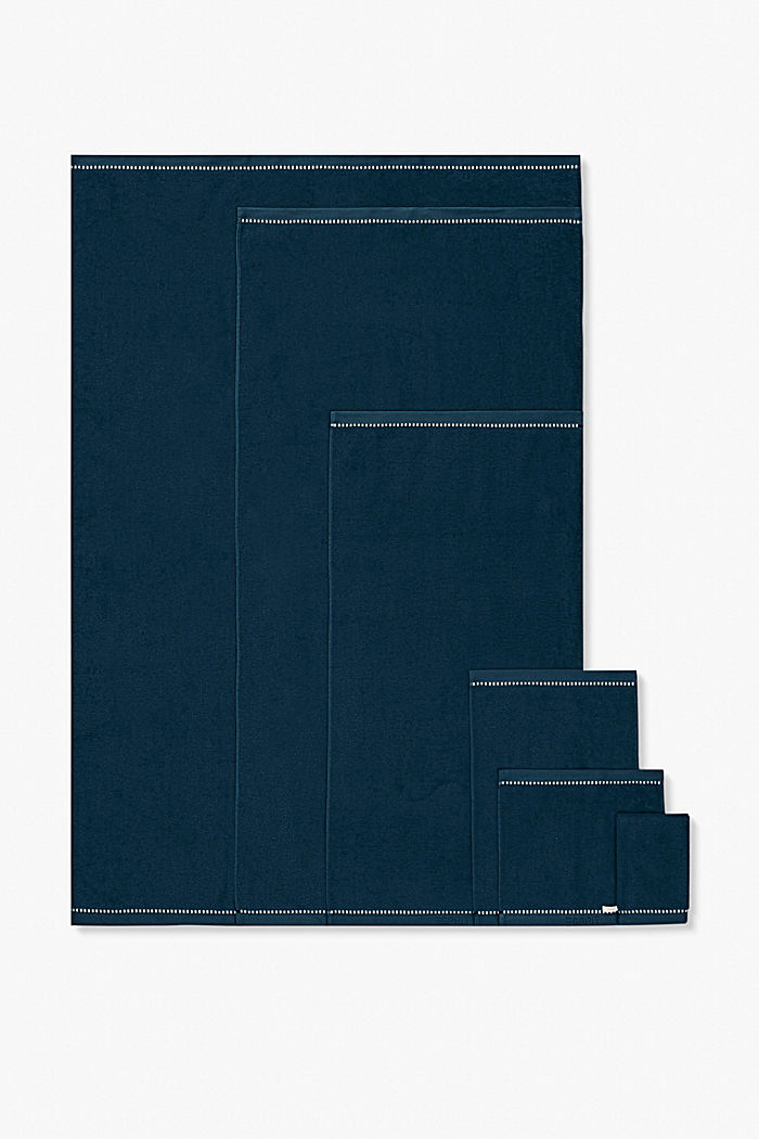 Mit TENCEL™: Handtuch-Serie aus Frottee, DARK PETROL, detail image number 4