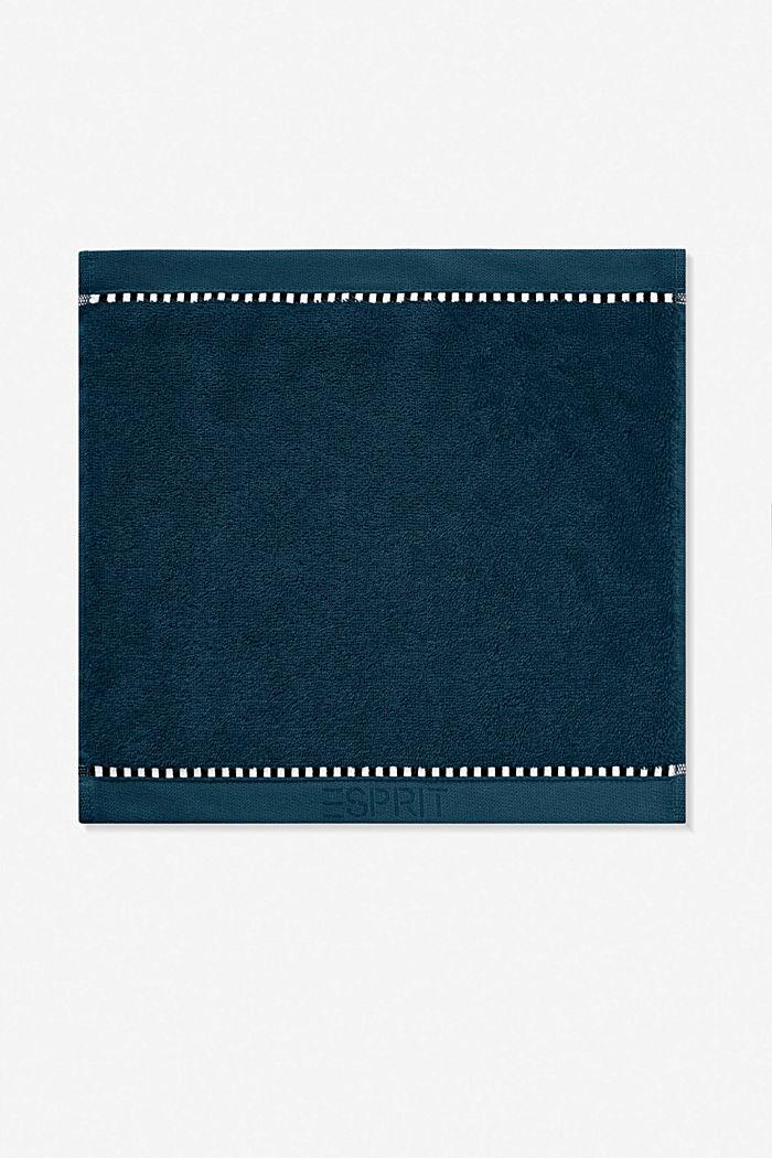 Mit TENCEL™: Handtuch-Serie aus Frottee, DARK PETROL, detail image number 6