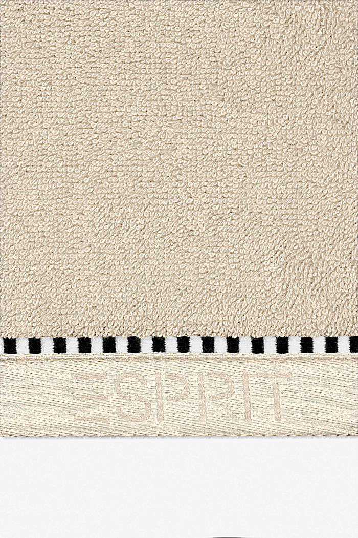 Mit TENCEL™: Handtuch-Serie aus Frottee, SAND, detail image number 1