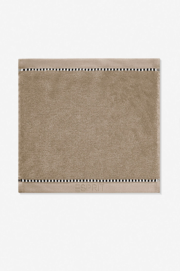 With TENCEL™: terry cloth towel collection, MOCCA, detail image number 6