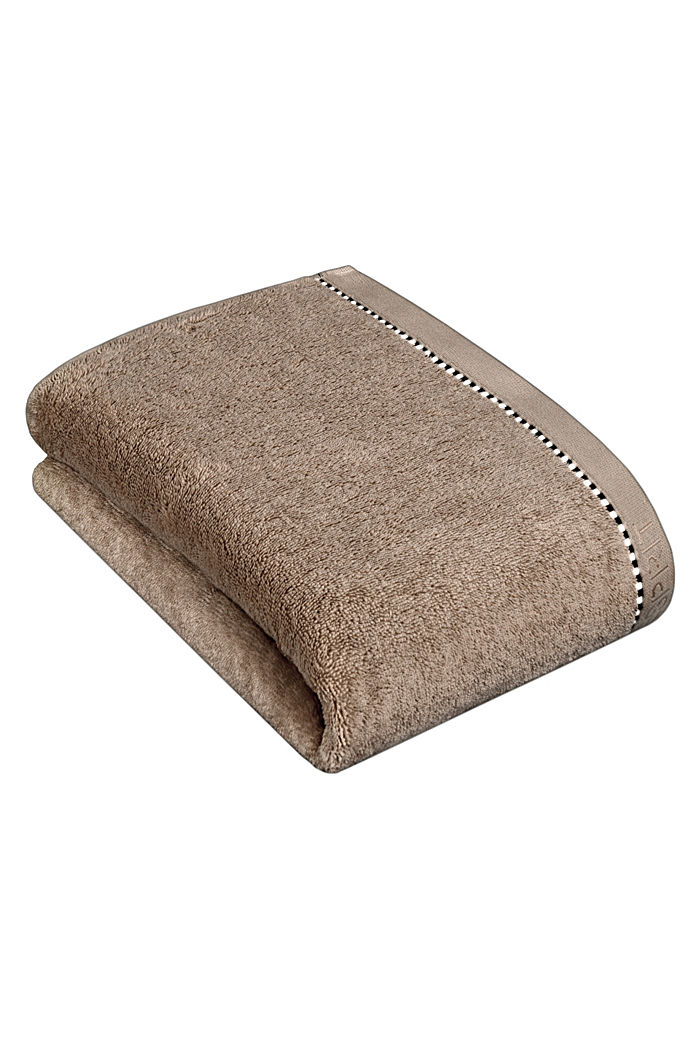 With TENCEL™: terry cloth towel collection, MOCCA, detail image number 2