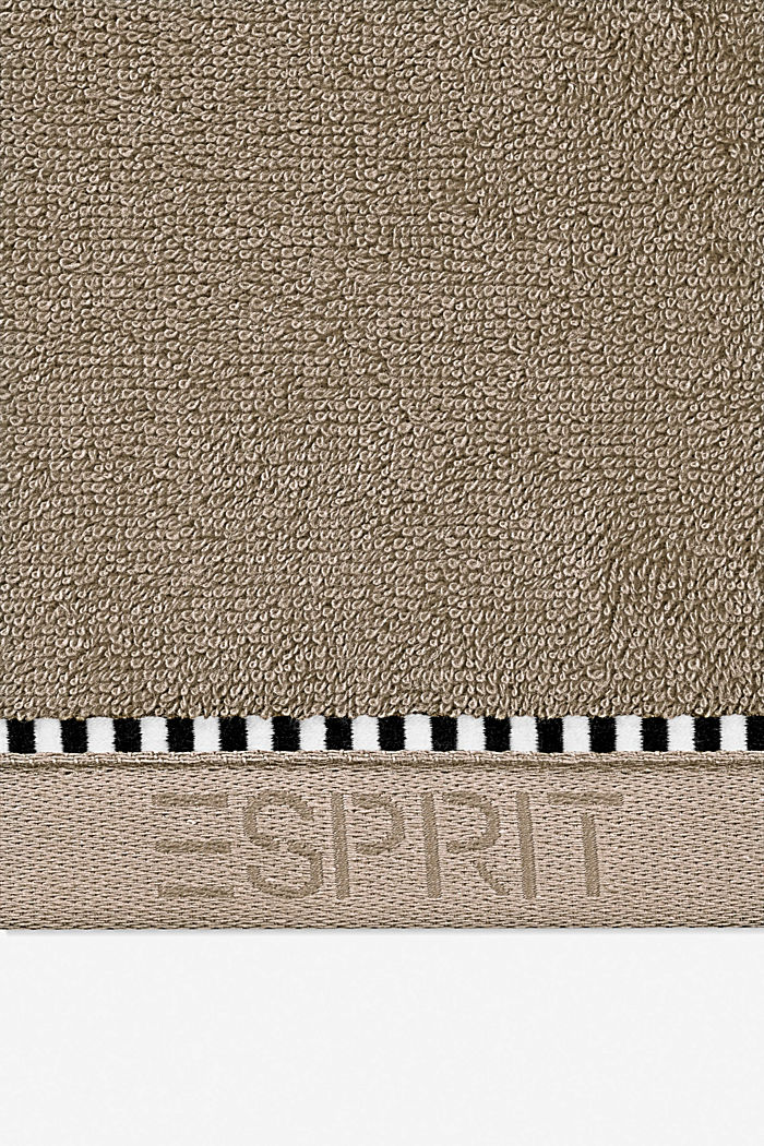 With TENCEL™: terry cloth towel collection, MOCCA, detail image number 1