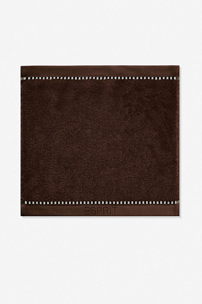 With TENCEL™: terry cloth towel collection, CHOCOLATE, detail image number 6