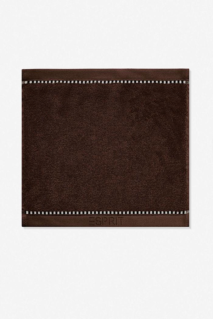 Met TENCEL™: handdoekenlijn van badstof, CHOCOLATE, detail image number 6