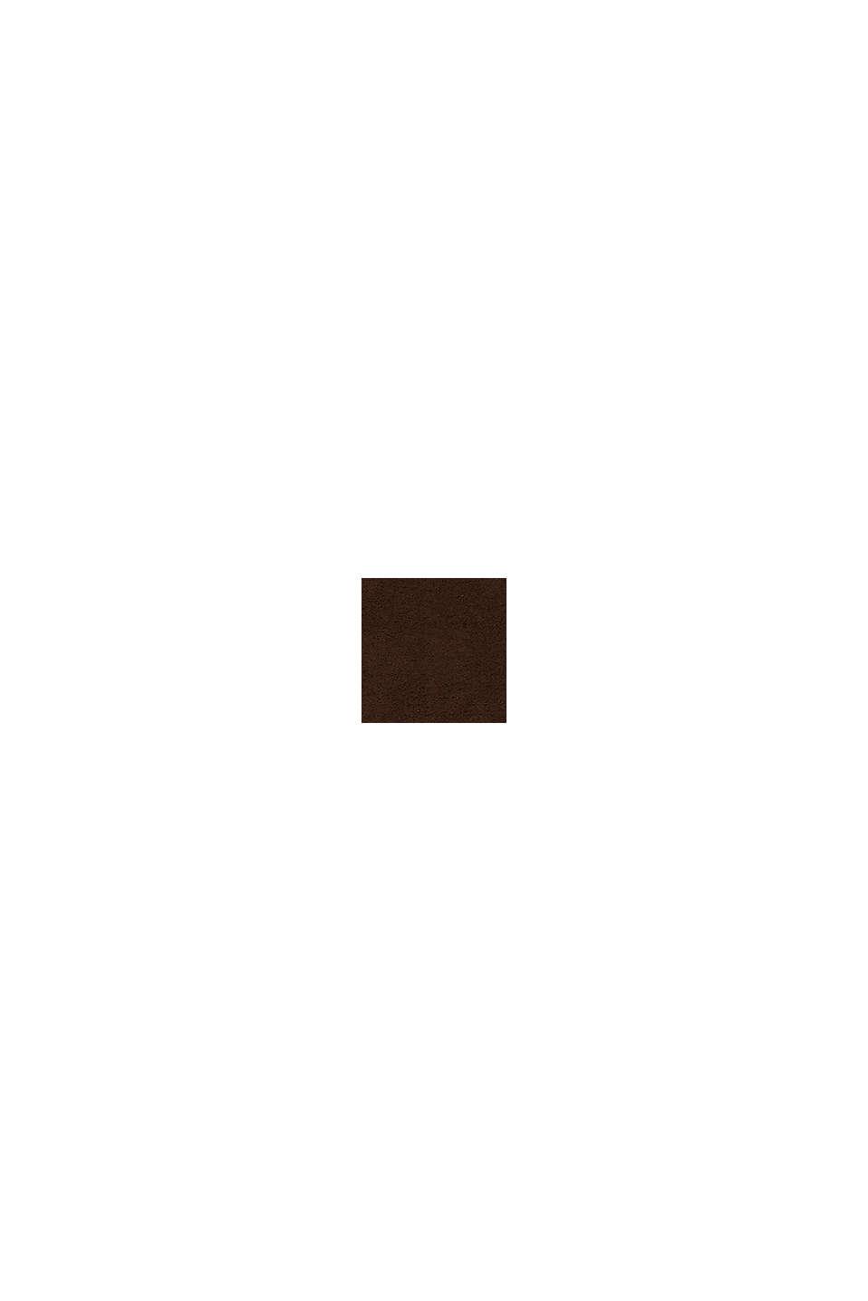 Met TENCEL™: handdoekenlijn van badstof, CHOCOLATE, swatch