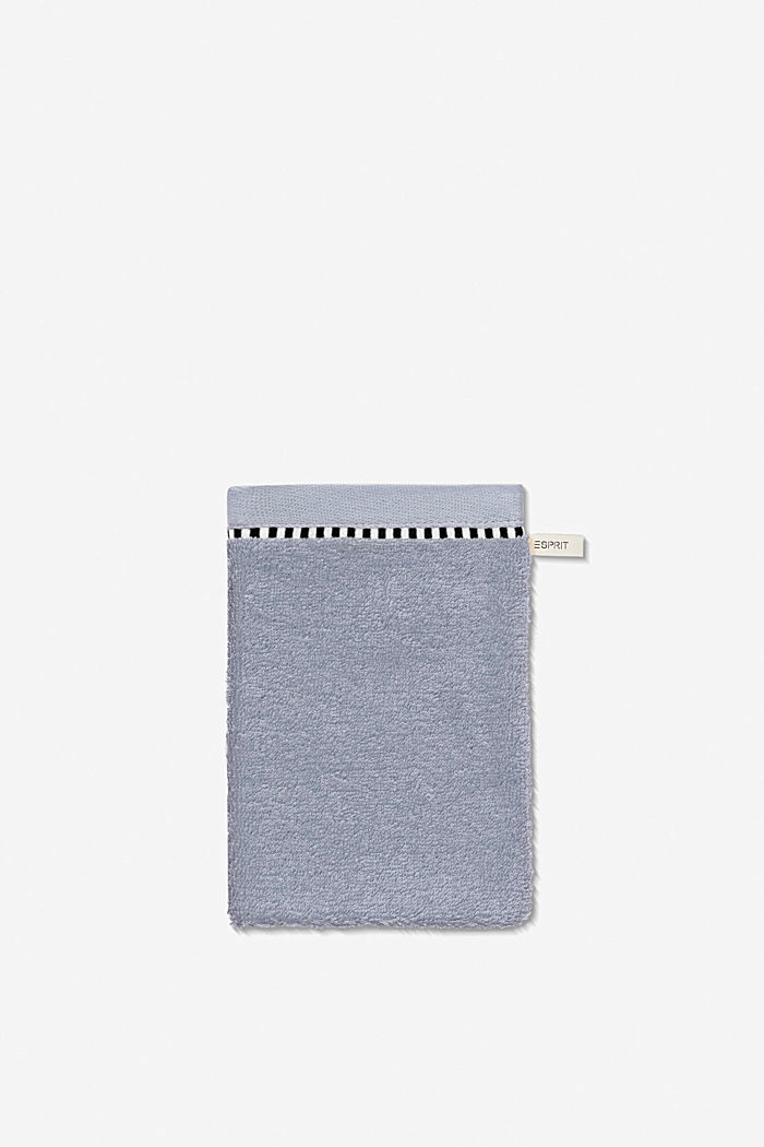 With TENCEL™: terry cloth towel collection, SILVER, detail image number 5