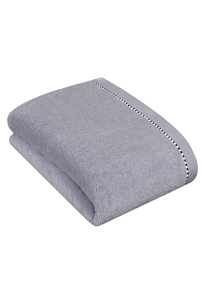 With TENCEL™: terry cloth towel collection, SILVER, detail image number 2