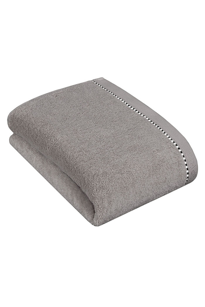 With TENCEL™: terry cloth towel collection, STONE, detail image number 2