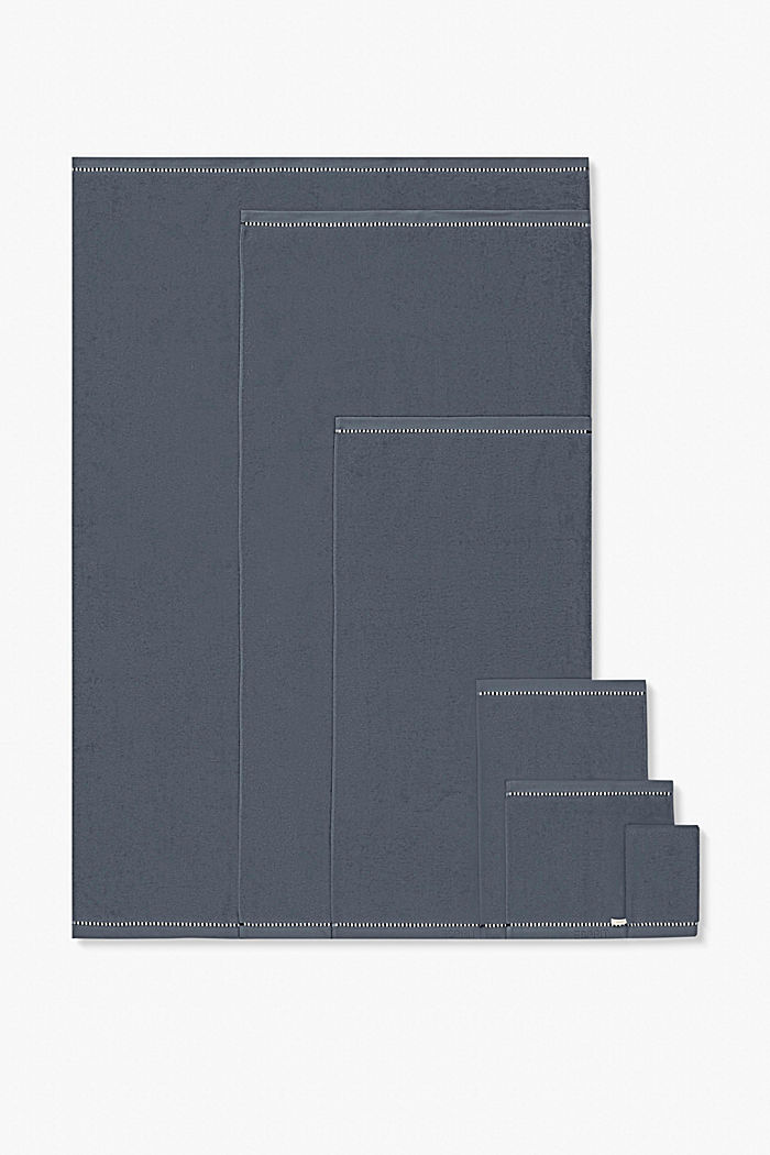 Mit TENCEL™: Handtuch-Serie aus Frottee, GREY STEEL, detail image number 4