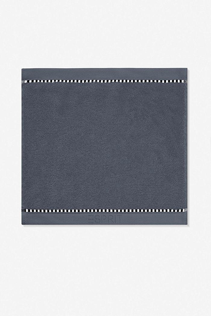Mit TENCEL™: Handtuch-Serie aus Frottee, GREY STEEL, detail image number 6