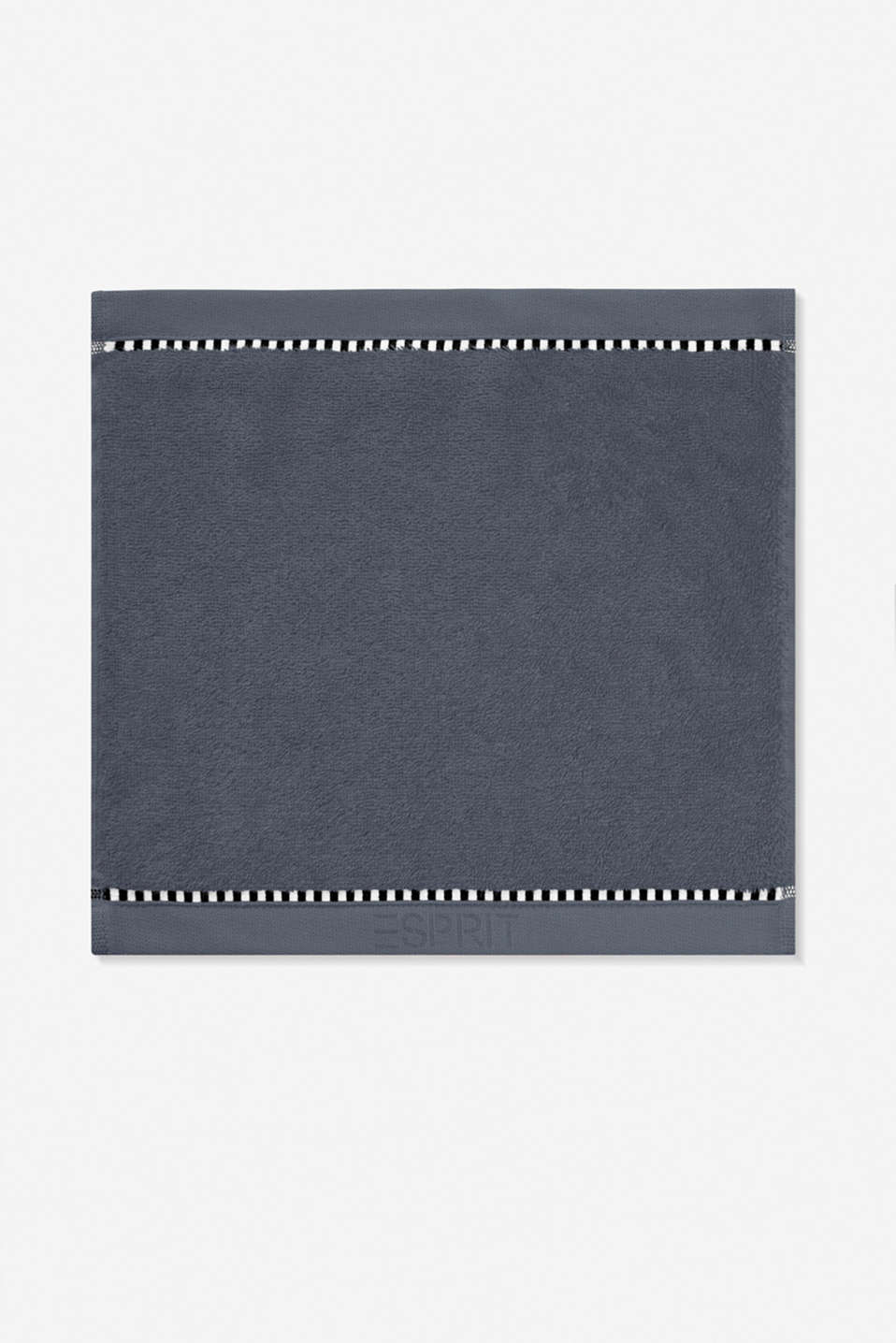 With TENCEL™: terry cloth towel collection, GREY STEEL, detail image number 6