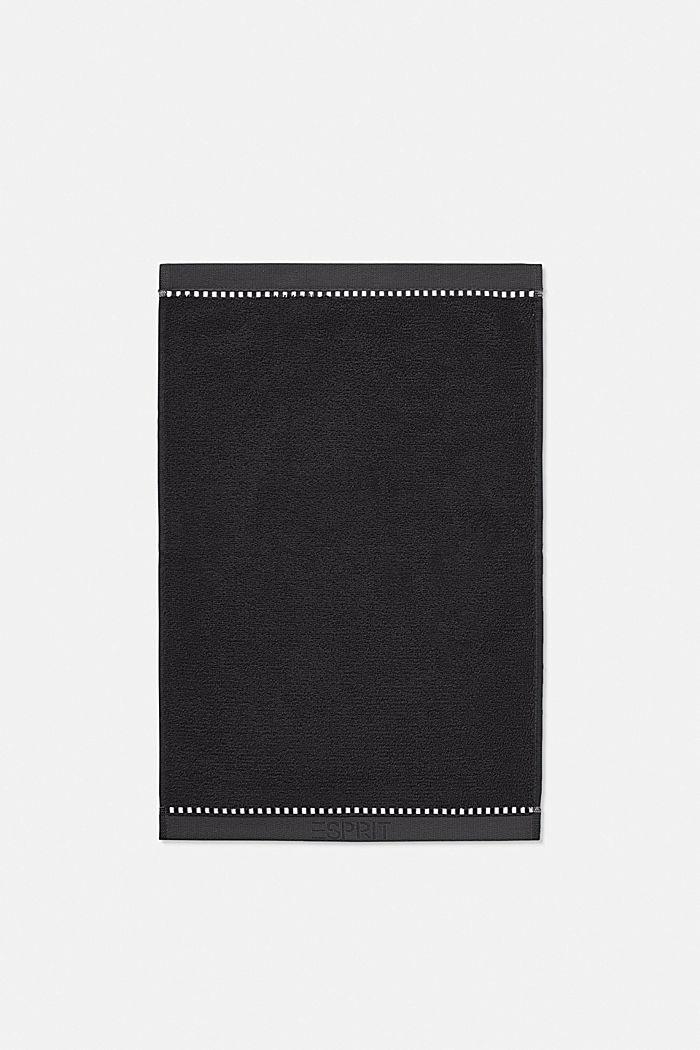 Mit TENCEL™: Handtuch-Serie aus Frottee, BLACK, detail image number 5