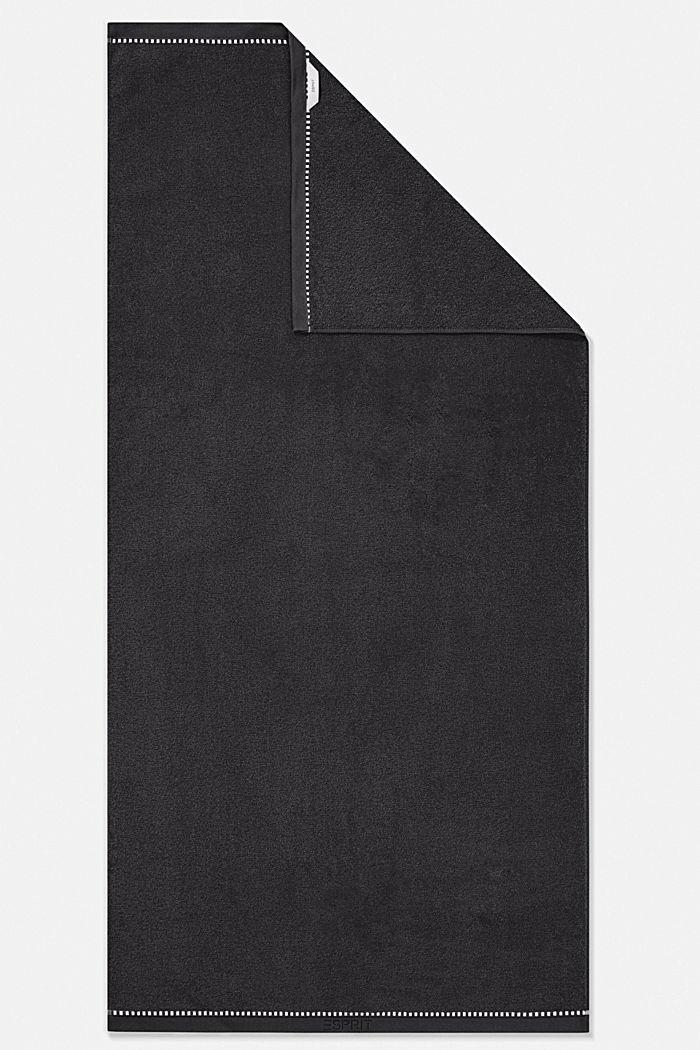 Mit TENCEL™: Handtuch-Serie aus Frottee, BLACK, detail image number 3