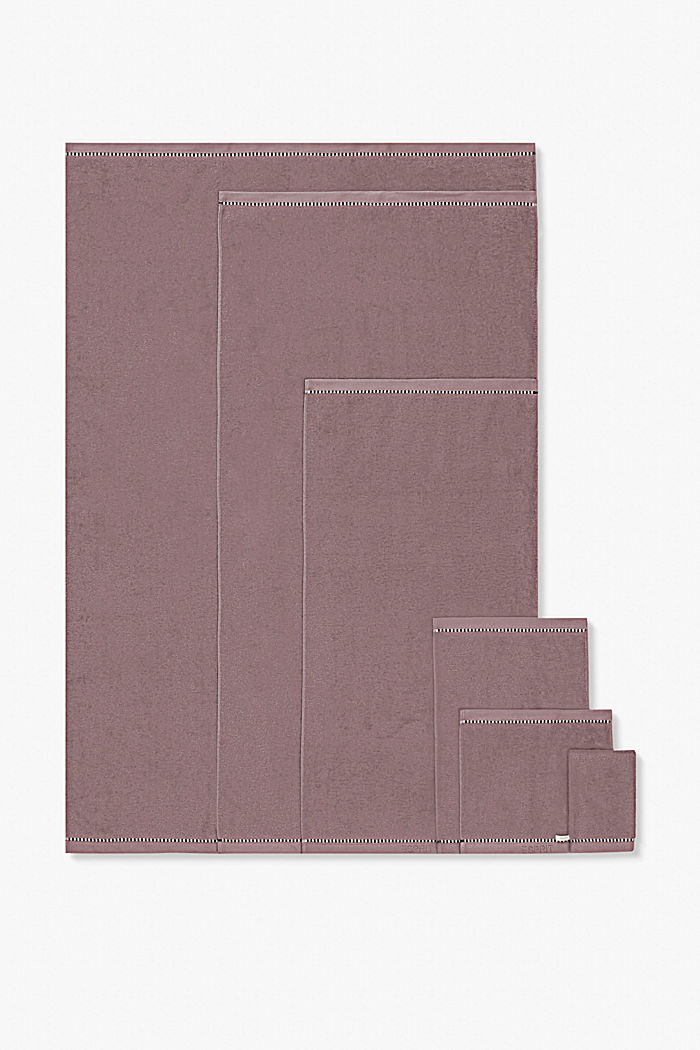 Mit TENCEL™: Handtuch-Serie aus Frottee, DUSTY MAUVE, detail image number 4