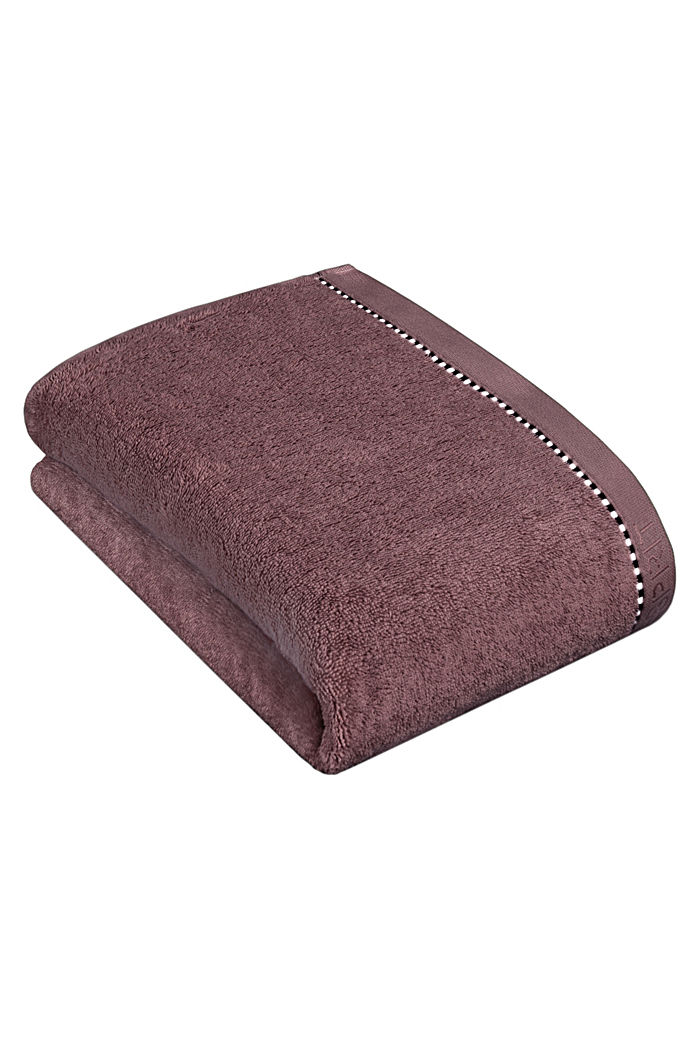 With TENCEL™: terry cloth towel collection, DUSTY MAUVE, detail image number 2