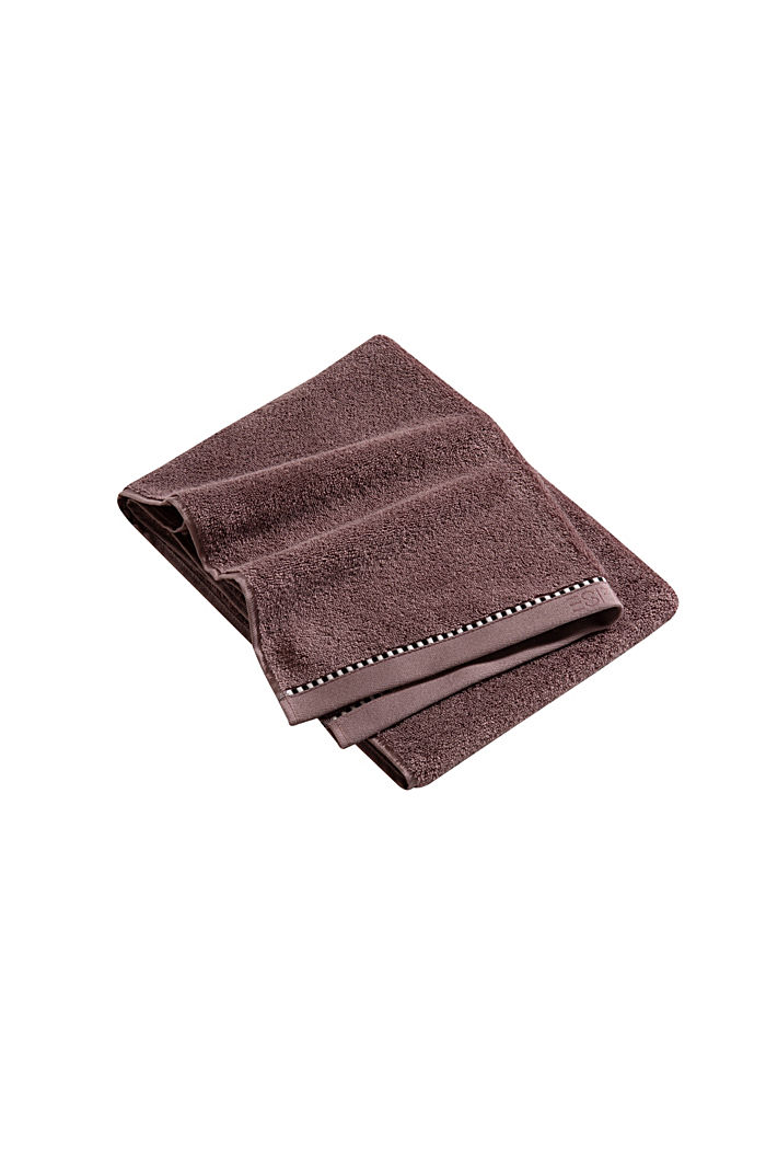 With TENCEL™: terry cloth towel collection, DUSTY MAUVE, detail image number 3