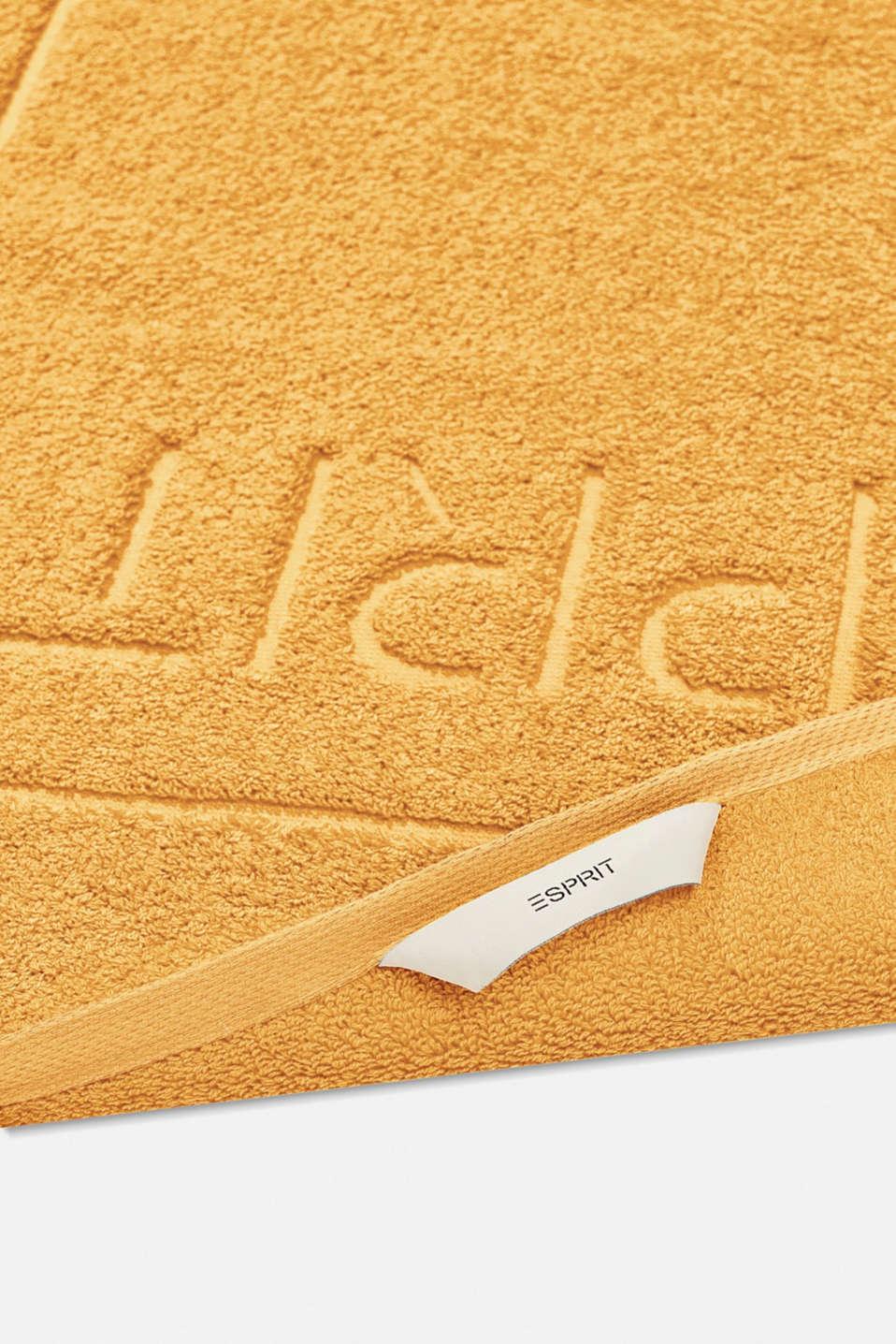 Terrycloth bath mat made of 100% cotton, SUN, detail image number 1