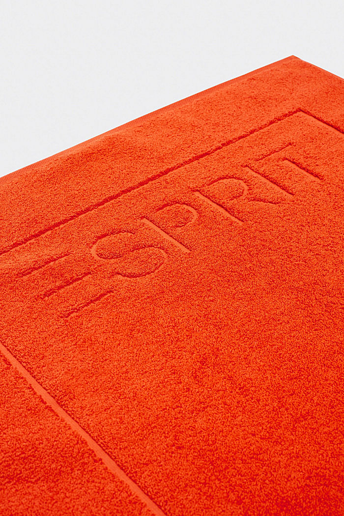 Terrycloth bath mat made of 100% cotton, FIRE, detail image number 2
