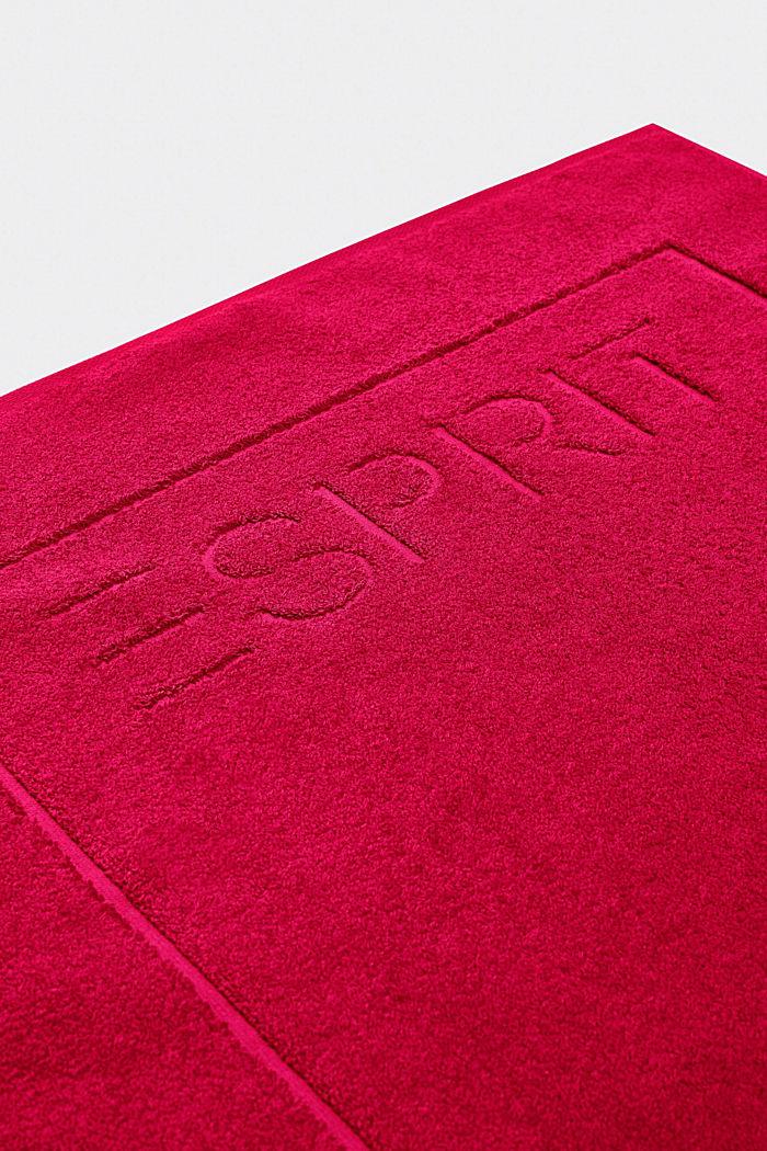 Badmatta i frotté av 100% bomull, RASPBERRY, detail image number 2
