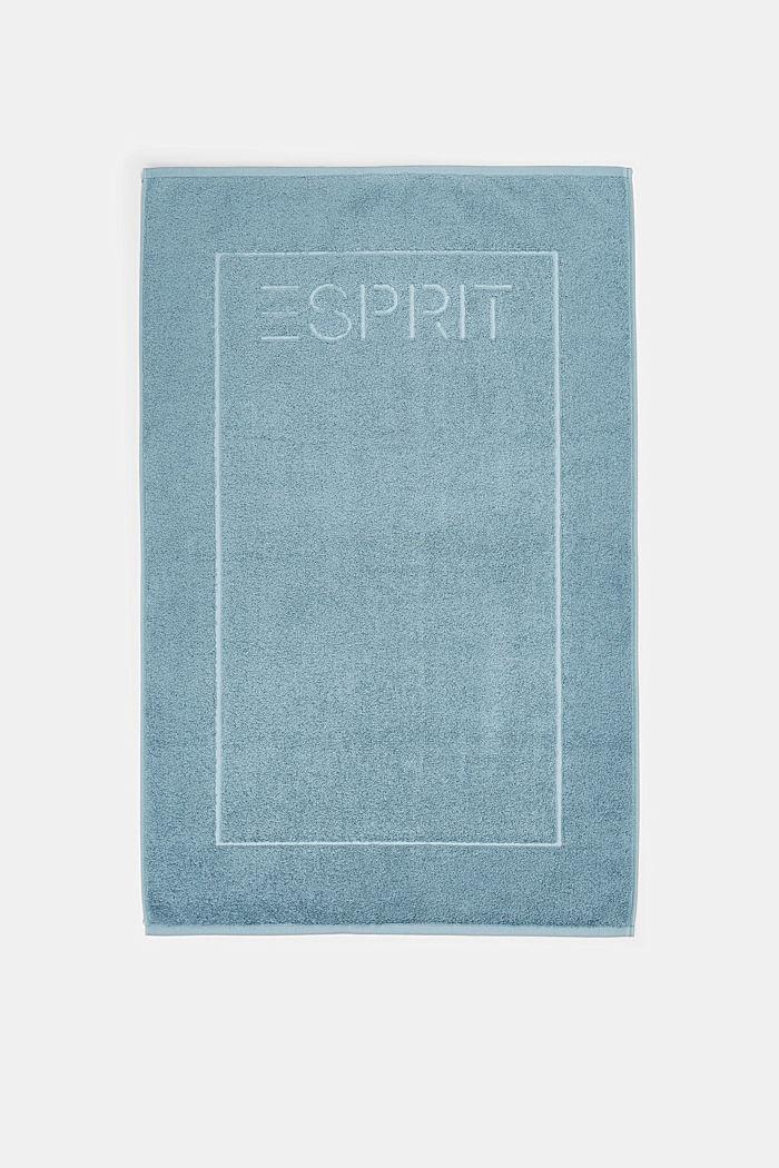 Terrycloth bath mat made of 100% cotton